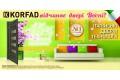 Скидка 15% на межкомнатные двери торговой марки  KORFAD