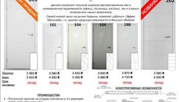 Дешевле не бывает, крашеные двери в цвете эмаль белая