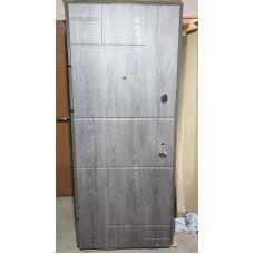 К-8 мод. мод. 166 Дуб шале графит/ Дуб шале седой Входная дверь