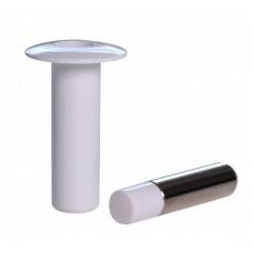 Магнитный дверной стопор скрытого монтажа Fantom Premium Белый