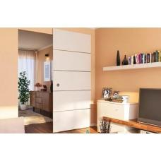 Раздвижные систем Комплект фурнитуры DESIGN 80-M для 1-го дверного полотна до 80 кг HAFELE
