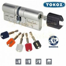 Цилиндр Tokoz Pro 300 100 мм 50х50Т ключ/тумблер