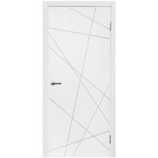Межкомнатные двери Норд 164 белая эмаль