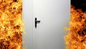 Сертифицированные противопожарные двери!